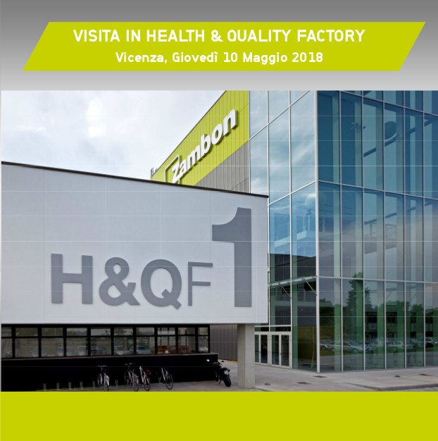 VISITA IN HEALTH & QUALITY FACTORY